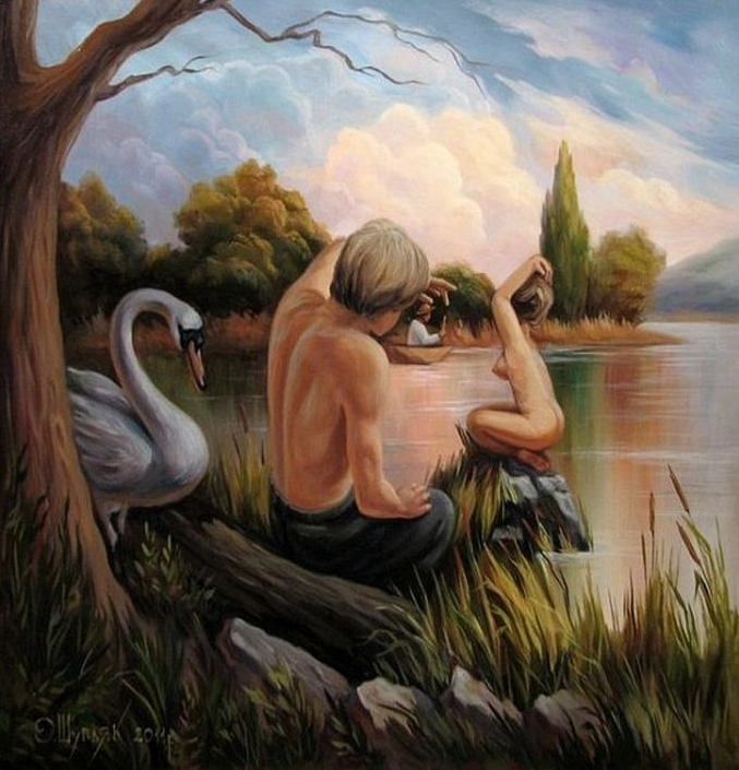 Oleg Shuplyak optical illusion